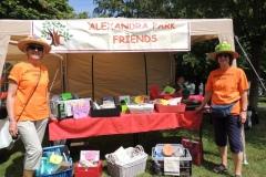 Alexandra Park Friends stall